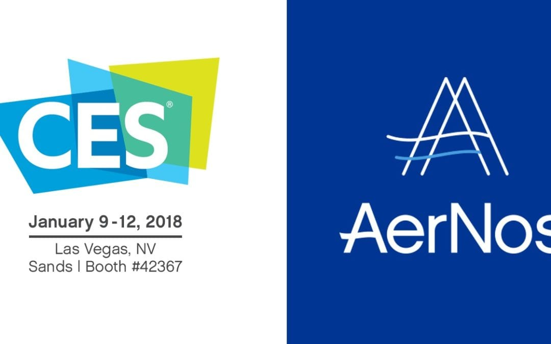 AERNOS TO ANNOUNCE NANO GAS SENSOR PRODUCTS AT CES 2018