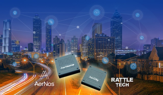 AERNOS AND RATTLE TECH ANNOUNCE PARTNERSHIP TO DEVELOP END-TO-END IOT SOLUTIONS FOR AIR QUALITY MONITORING