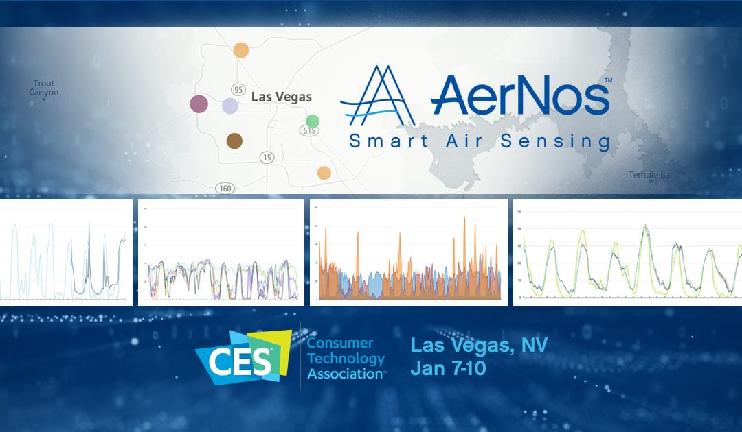 AerNos Deploys Multiple Outdoor Air Quality Monitoring Sensors in Las Vegas During CES 2020