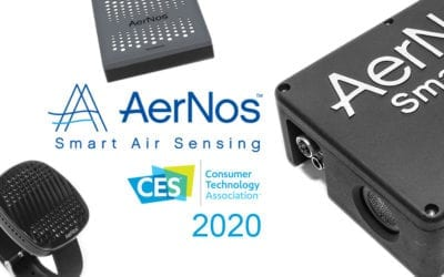 AerNos to Introduce and Demonstrate New Nano Gas Sensor Products at CES 2020