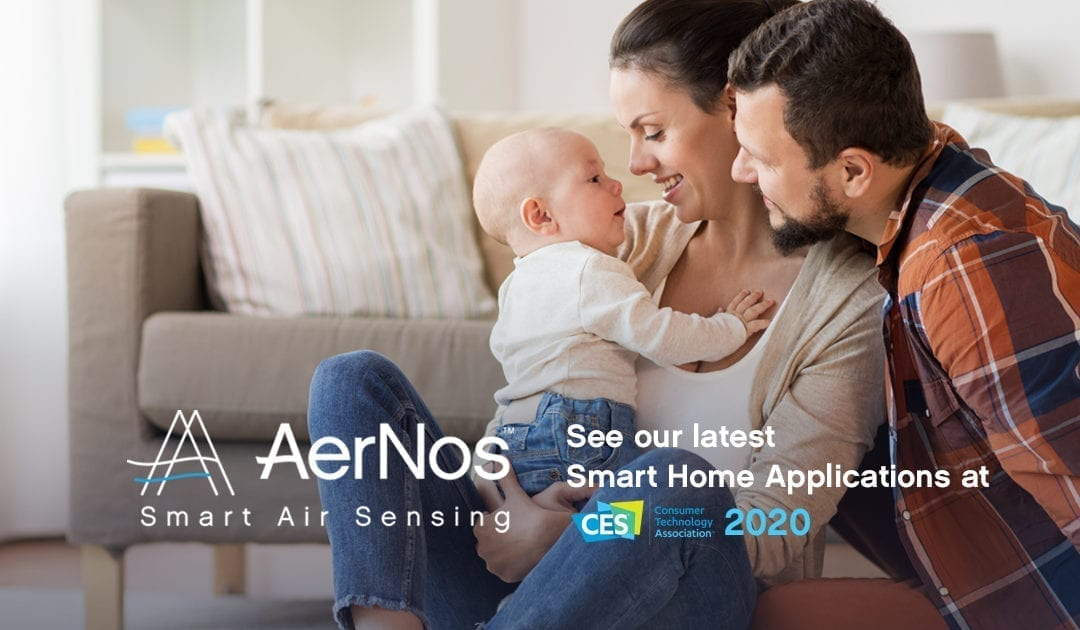Smart Home Nano Gas Sensors by AerNos to Play a Key Role in Health and Wellness