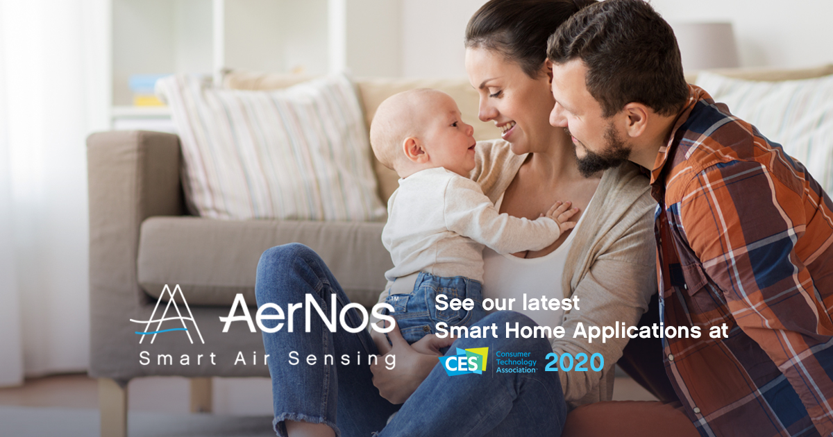 AerNos-CES2020-Smart-Home