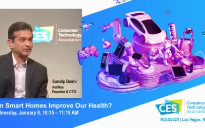 AerNos Founder and CEO Among Smart Home Panelists at CES 2020
